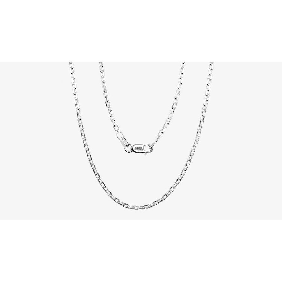 Silver chain for men, Width 2.1 mm, Chain type Anchor