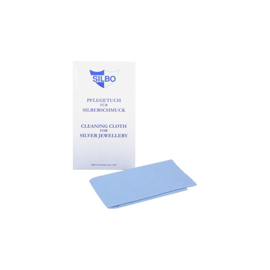 Special cleaning cloth for silver jewelry