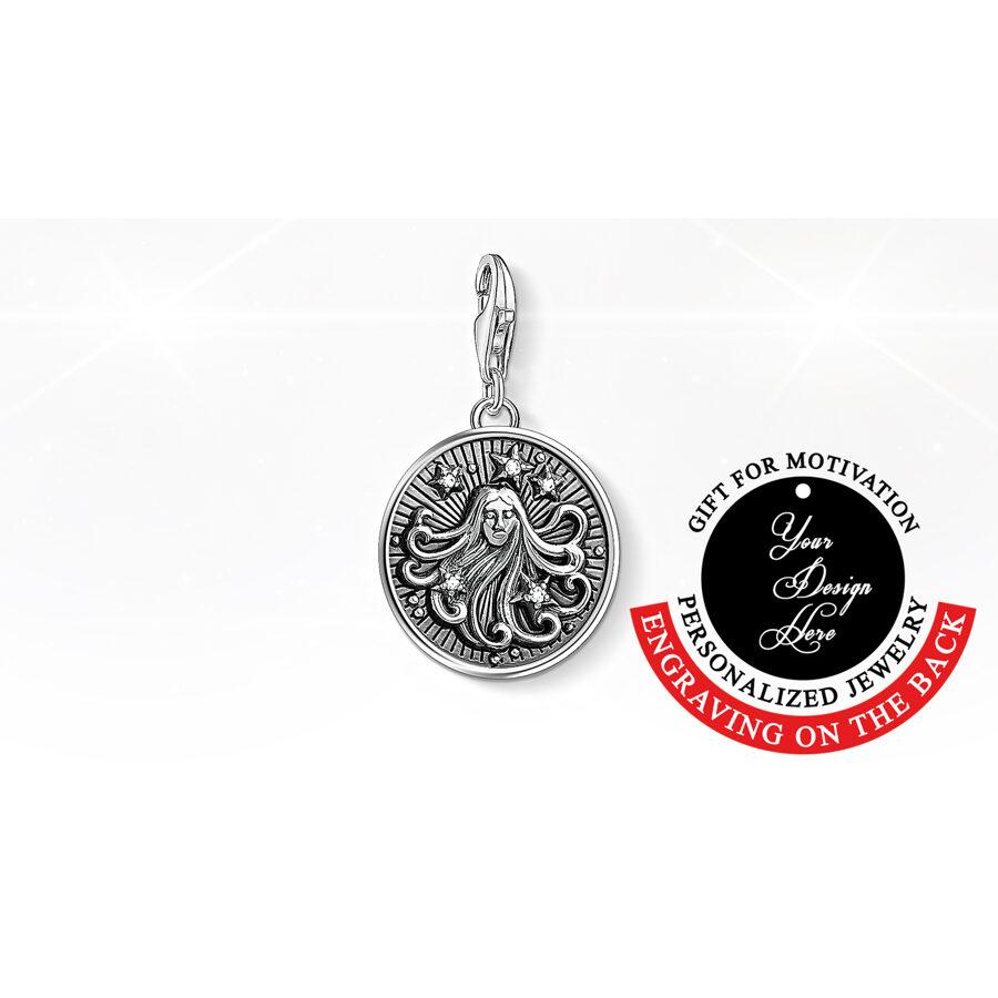 Thomas Sabo personalizēta kaklarota, zodiaka zīme Jaunava
