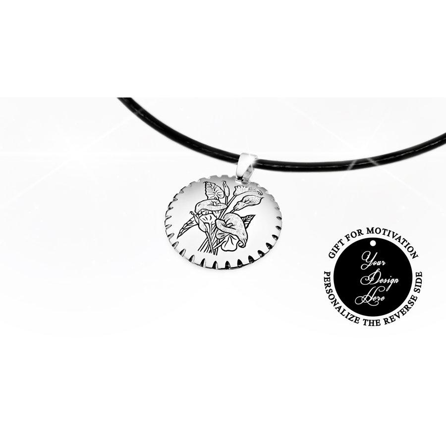 Kaklarota ar kallu ziediem - personalizēta dāvana sievietei